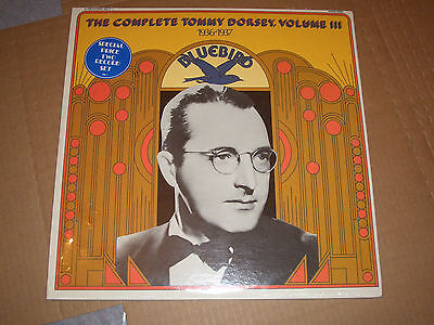 The Complete Tommy Dorsey Volume Iii 1936-1937 Lp 2 Vinyl Record Set New Sealed