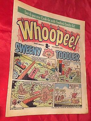 WHOOPEE! COMIC - 12th AUGUST 1978