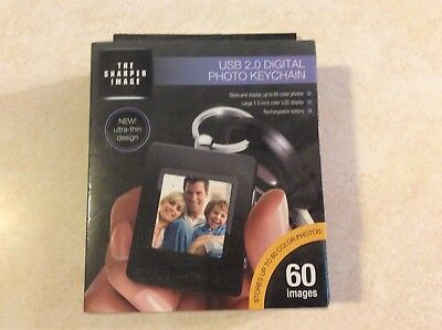 Sharper Image USB 2.0 Digital Photo Keychain