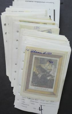 EDW1949SELL : WORLDWIDE Beautiful collection of Paintings, sets & S/S Cat $1,021