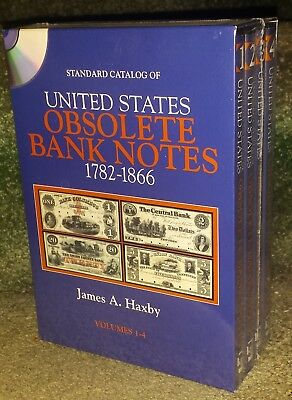 Standard Catalog of United States Obsolete Bank Notes 1782-1886 James Haxby DVDs