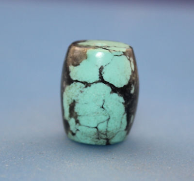 19*15 mm Antique Dzi turquoise old Bead from Tibet **Free shipping**