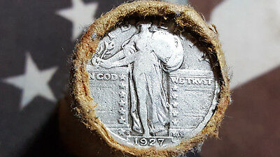 Standing Liberty Quarter Roll - Silver Coin Estate Lot NR*