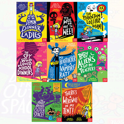 Pamela Butchart Collection World Book Day 2018 Baby Aliens 8 Books Set NEW PACK