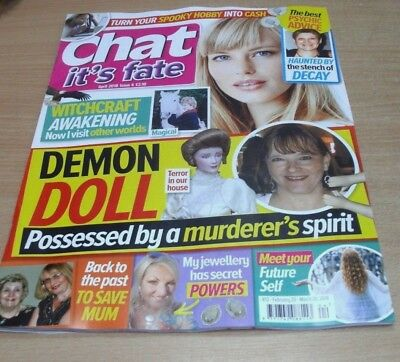 Chat It's Fate magazine #4 APR 2018 Demon Doll, Meet your Future Self, Witchcraf
