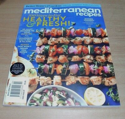BHG Better Homes & Gardens Specials magazine Mediterranean Recipes 2018