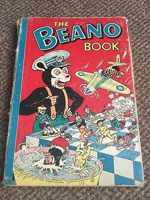 the beano annual 1956- poor condition