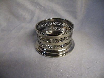 Vintage silver plated champagne bottle coaster/holder J.B.Chatterley & Sons Ltd