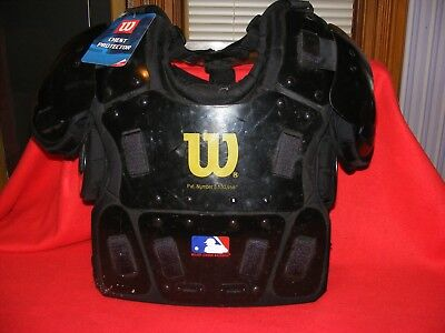 Little League Umpire Protective Equipment, Chest, Face Mask, Lightly Used