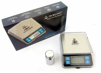 On Balance Weighing Digital Mini Table Top Pocket Scale 100g x 0.005g