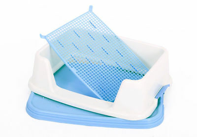 A60 Pet Toiletries Portable Dog Toilet Tray Litter Box Scoop Carrier Hooded
