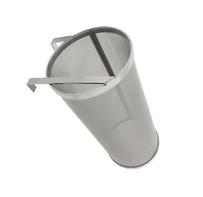 Brewing Hopper Spider Strainer Stainless 300 Micron Hops Beer Filter