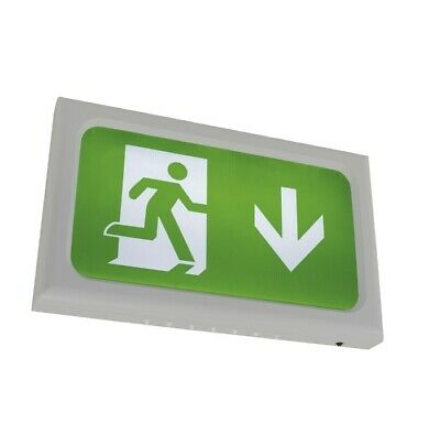 Ansell Encore LED Exit Sign White Self Test