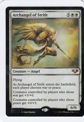 Magic the Gathering MTG Archangel of Strife From the Vault Angels