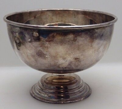 Antique Silver Plated Bowl - Johnson, Durban & Co