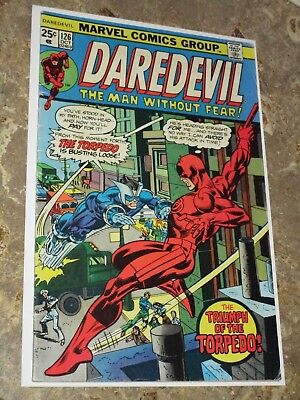 Daredevil #126 Mid Grade Bronze Age Marvel 1st Appearance Torpedo
