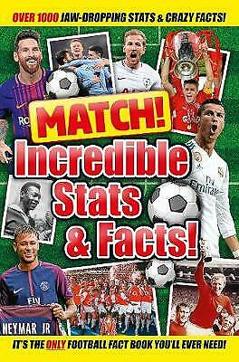 Match! Incredible Stats and Facts, Books, Macmillan Children's, Very Good condit