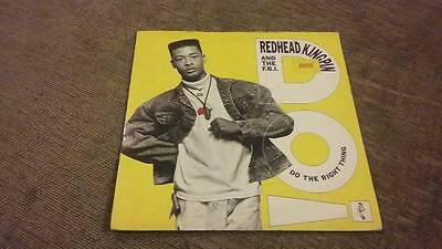 """Redhead Kingpin & The Fbi """" Do The Right Thing """" Ex Vintage 45 Rpm"""