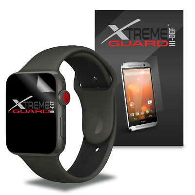 6-Pack Clear XtremeGuard HI-DEF Screen Protector For Apple Watch 3 38mm
