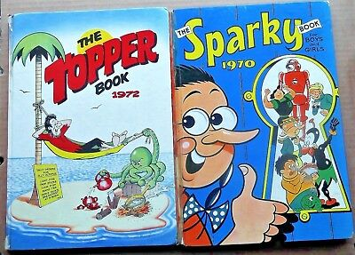 Sparky & Topper Annual From 1970