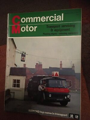 Commercial Motor truck lorry magazine April 9 1971