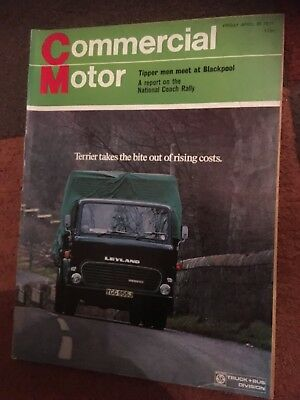 Commercial Motor truck lorry magazine April 30 1971