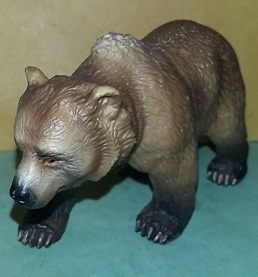 "Retired 2003 Schleich Brown Grizzley Bear 4"" Inch Figure-Cheap!-Look!"