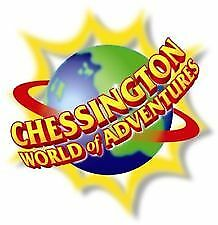 LOOK NOW THE SUN Chessington World Of Adventure Tickets Booking Form & 10 Tokens