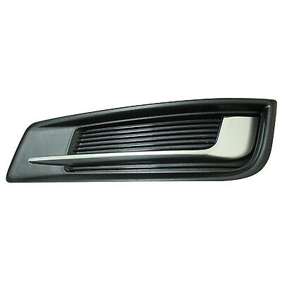 Replacement Fog Light Cover for 13-17 Cadillac XTS (Driver Side) GM1038153