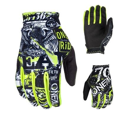 Oneal Matrix Handschuhe Attack MX Enduro Motocross Downhill MTB Glove