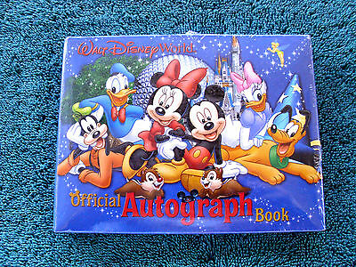 Disney * WDW Official Small Autograph Book * New & Sealed