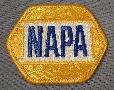 Vintage NAPA Gold Patch. VG condition. Free Shipping.
