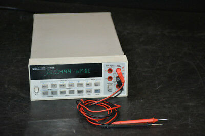 HP Agilent Keysight 34401A 6.5 Digit Digital Multimeter