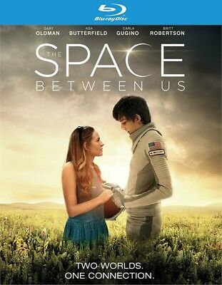The Space Between Us (Blu-ray Disc, 2017)