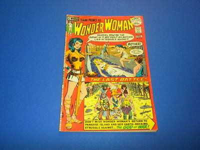 WONDER WOMAN #198 DC Comics 1972