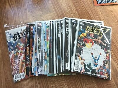 Justice Society of America 26 issue lot