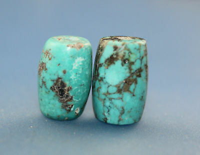 16*10 mm Antique Dzi turquoise old Bead from Tibet **Free shipping**