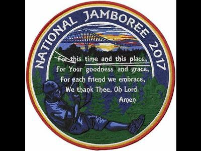 2017 Boy Scout National Jamboree Official Summit Grace Jumbo Prayer Jacket Patch