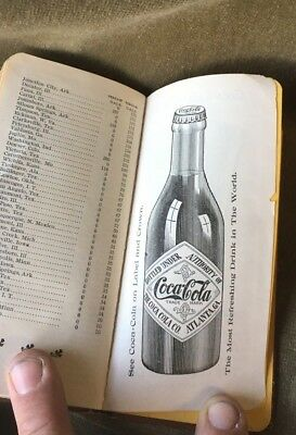 Coke 1905 Note Book Great Illustrations