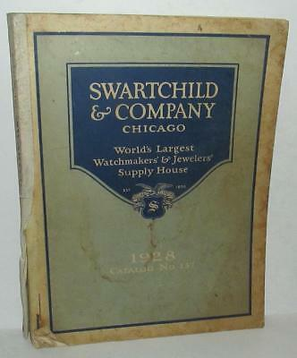 1928 Swartchild & Co. Chicago Watchmakers' & Jewelers' Supply House Catalog