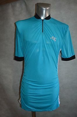 Maillot Velo J.e Taille 3 Jersey/maglia/bike Vintage 1970/80 Made In France Tour