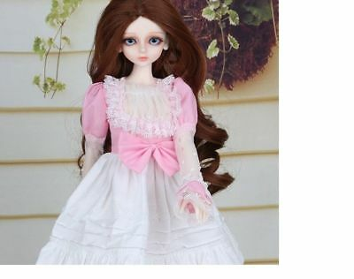A15 1/4 Girl Super Dollfie Normal Skin Coordinate Model Fullset BJD Doll O