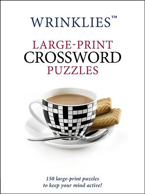 Wrinklies Large Print Crossword Puzzles, 9781780977935