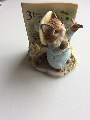 Fw & Co ~ The World Of Beatrix Potter ~ Playful Kittens ~ Excellent Condition