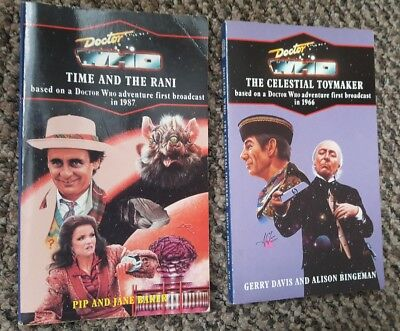 Doctor Who Target Novels - Celestial Toymaker / Time and the Rani - 90s Versions
