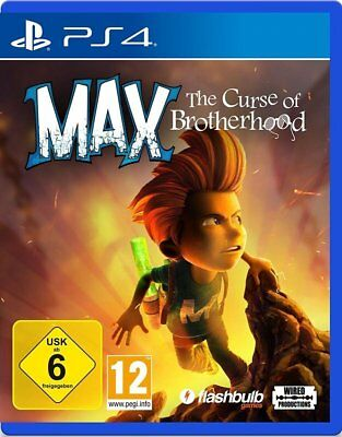 Max: The Course of Brotherhood NEUWARE Sony PlayStation 4 PS4 !!