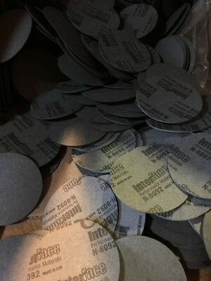"""N-8090 Gasket Material Discs 2.840"""" Round .050"""" Thick 1,500 Discs"""
