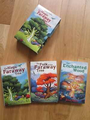 The Magic Faraway Tree Collection by Enid Blyton - Children's 3 Story Book Set