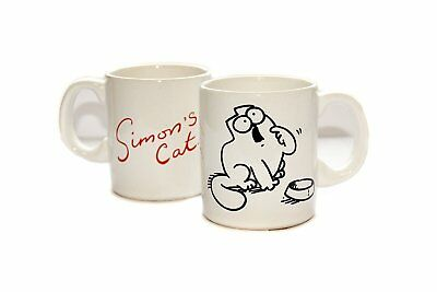 Simon´s Cat Kaffeebecher Hungrige Katze Kaffeetasse Simons Cat Hungry Cat