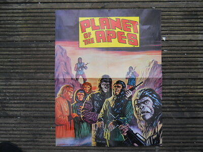 Planet of the Apes Poster, Originally given free with Marvel Comics, Oct 1974